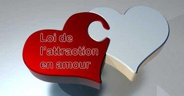loi de l'attraction en amour